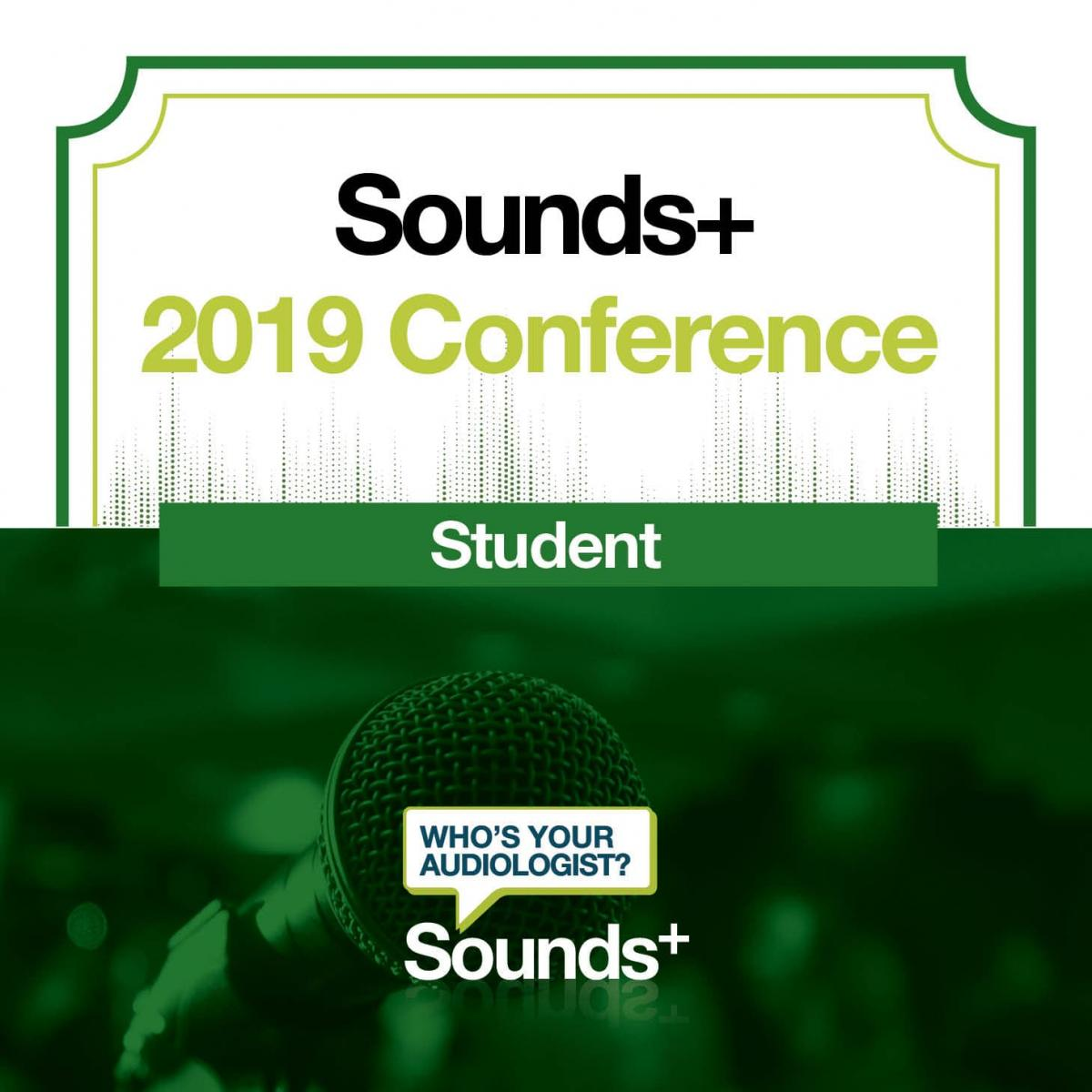 2019 Student Member Conference Ticket
