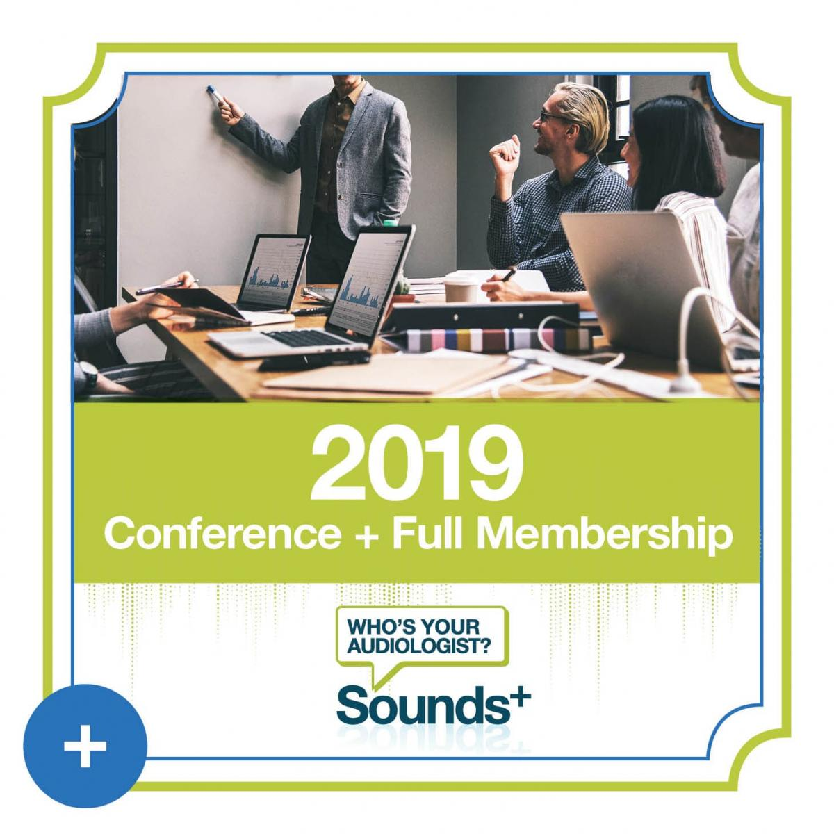 Sounds+ Full Membership and Conference Registration