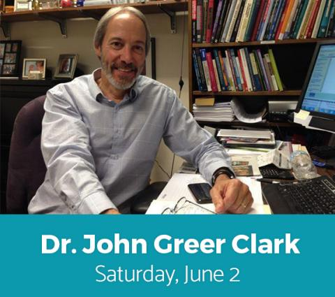 John Greer Clark, PhD Headshot